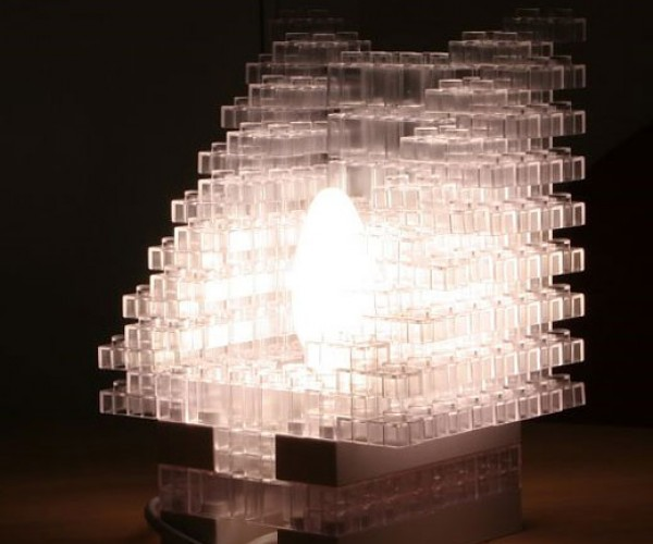 LEGO Block Lamp Lets You Build Your Own Structures
