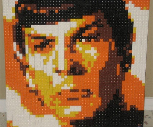 LEGO Pop Art Mosaics Built Brick by Tiny Brick