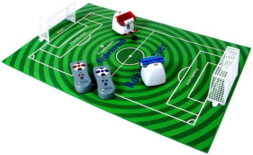 mini soccer robots turf