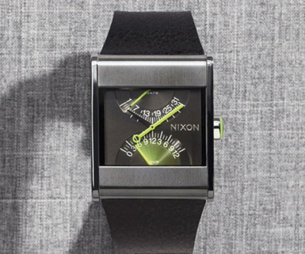Nixon R1g1 Watches Prove Analog is Still in Style