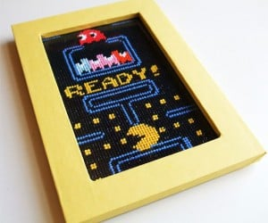 Cross-Stitch Pac-Man Could be Hanging on Your Wall