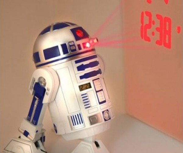 R2-D2 Projection Alarm Clock: It'S Droid Time