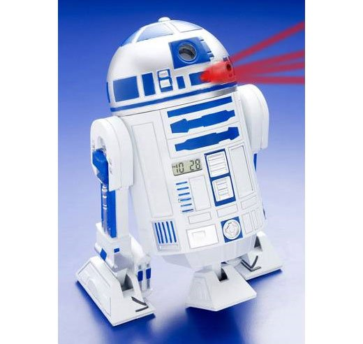 R2-D2 Projection Alarm Clock