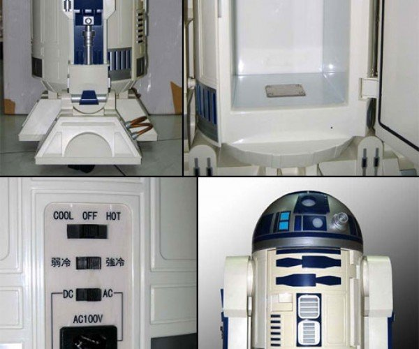 Rare R2-D2 Fridge for Sale: One Cool Droid