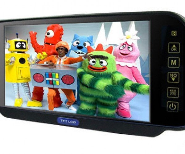 Rear View Mirror Tvs Say to Hell With Other Drivers