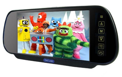rear view mirror lcd tv