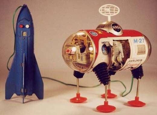 Retro 1950s Robots