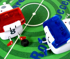 Robot Soccer Lets You Bend It Like Bender