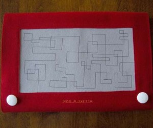 Twist and Shake: the Etch-a-Sketch Laptop Carrier