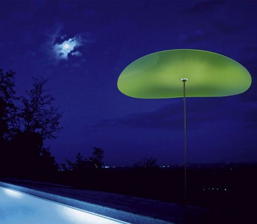 smoon ombrella lamp green