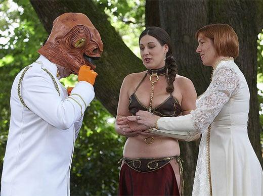 Star Wars Wedding Vows