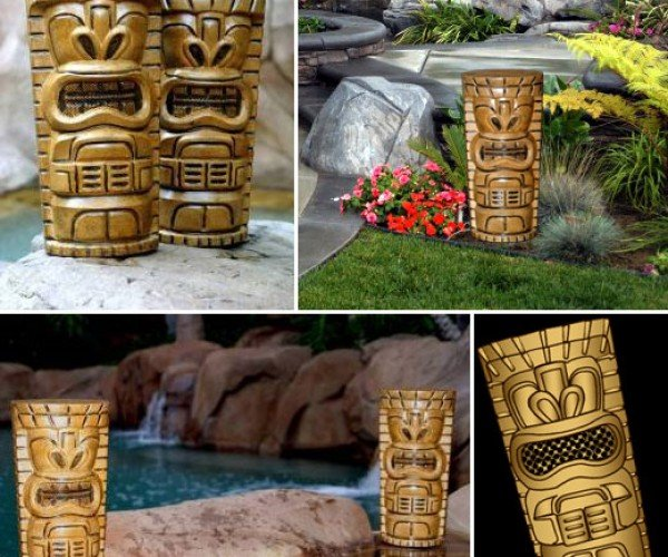 Tikitoonz Tiki Speakers Say Aloha