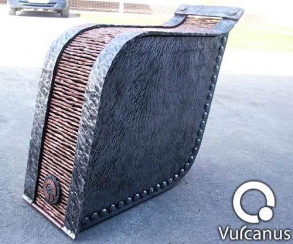 Vulcanus: Heavy Metal Casemod by Blacksmith