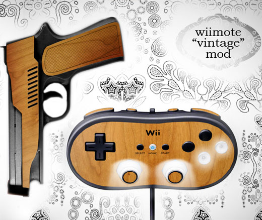 Wii Woodgrain Mod Concept by Joe D!