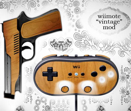 Wii Woodgrain Mod Concept by Joe D!