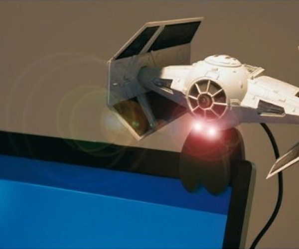 Tie Fighter Webcam: Darth Vader has His Eye on You