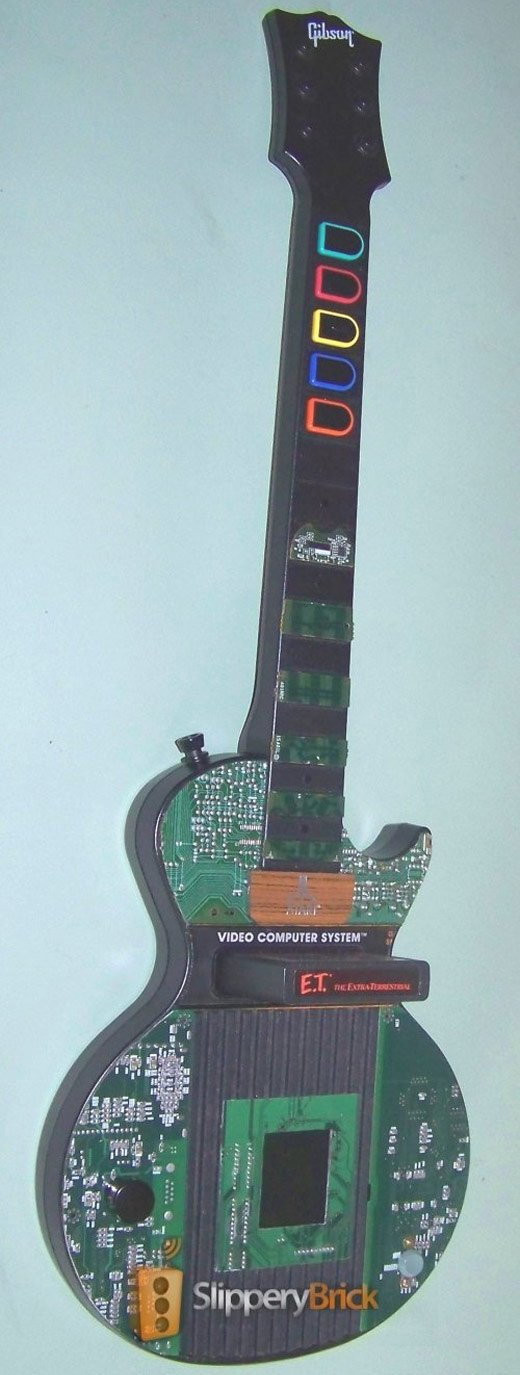 Atari 2600 Guitar Hero Casemod