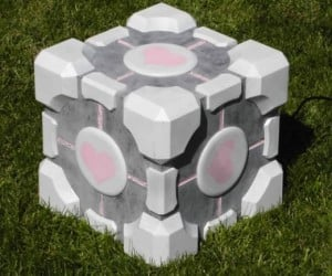 Weighted Companion Cube Subwoofer is No Lie