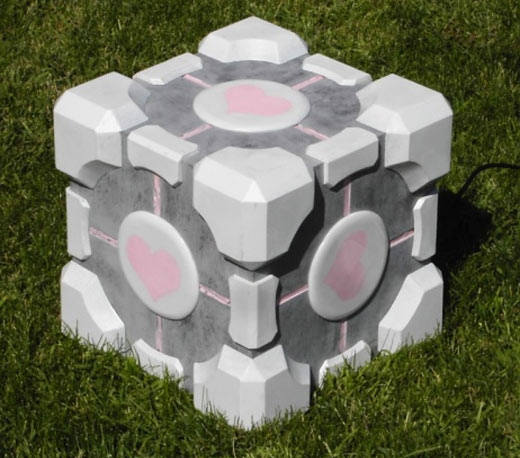 Weighted Companion Cube Subwoofer