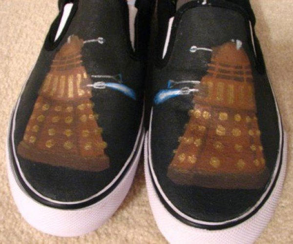 Dalek Shoes Do the Exterminating for You