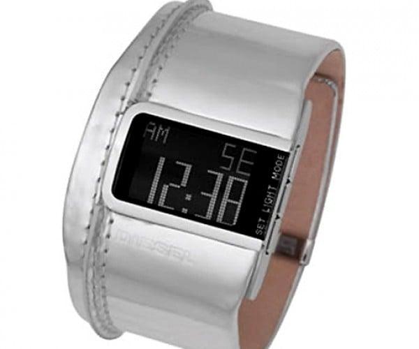 Diesel Dz7090 Digital Watch is Retro-Future-Glam-Tastic