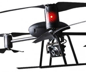 Draganflyer X6 Aerial Camera Copter Nearly Flies Itself