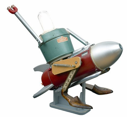 fraley robot rocket
