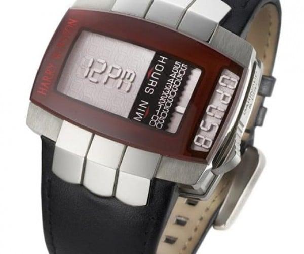Harry Winston Opus 8 Watch Melds Analog and Digital