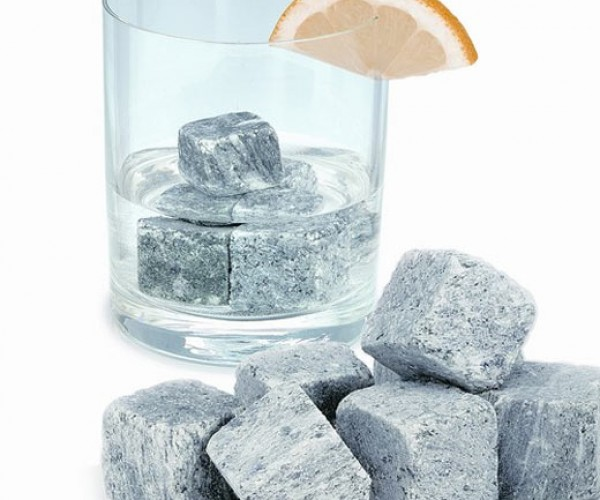 Stone Ice Cubes Really Put Your Drinks on the Rocks