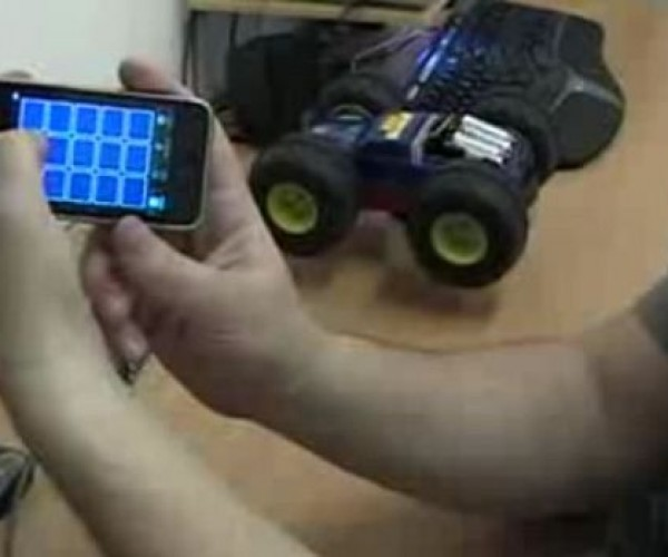 Hack: Control an R/C Car With Your iPhone