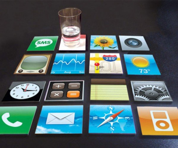 IPhone Coasters – be Sure to Drink Your Safari