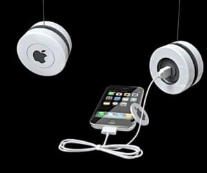 Iyo Induction Charger Powers Your iPhone With Yo-Yo Magic