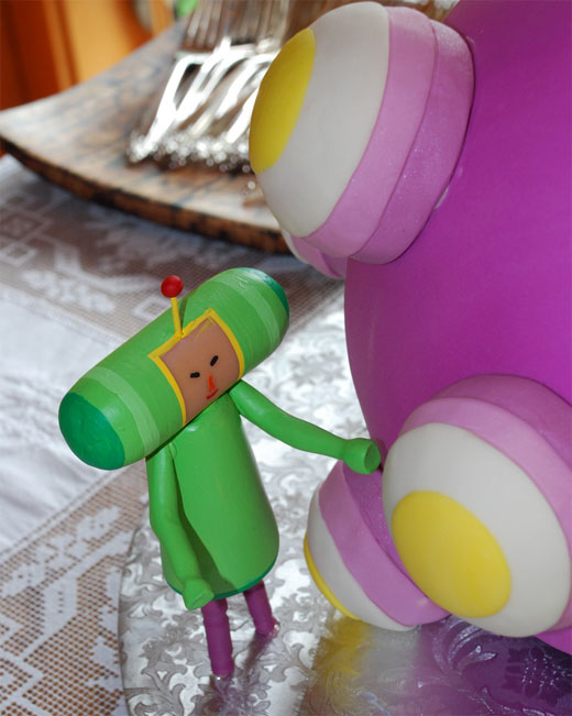 Katamari Damacy Wedding Cake