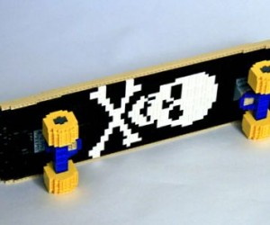 LEGO Skateboard for Some Bricktacular Shredding