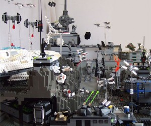 LEGO Star Wars Diorama Blows My Mind