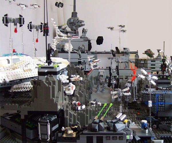 LEGO Star Wars Diorama Blows My Mind