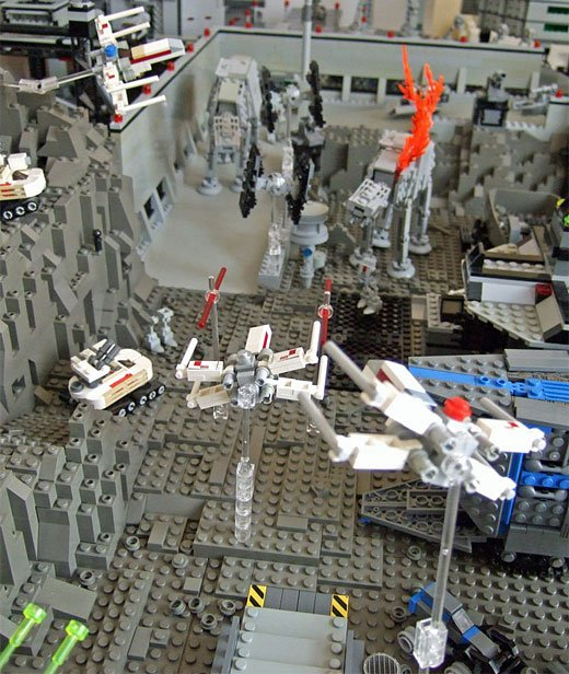 lego star wars diorama 2