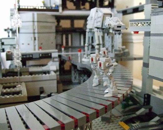 LEGO Star Wars Diorama