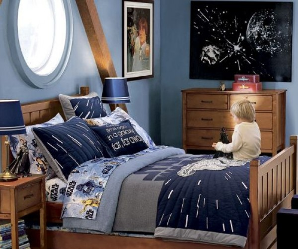 Star Wars Sheets and Pillows for Lucky Kids (and Adults?)