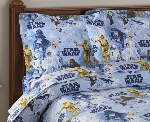 Star Wars Sheets And Pillows For Lucky Kids And Adults