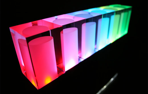 Rainbow Star Color Changing LED Lamps