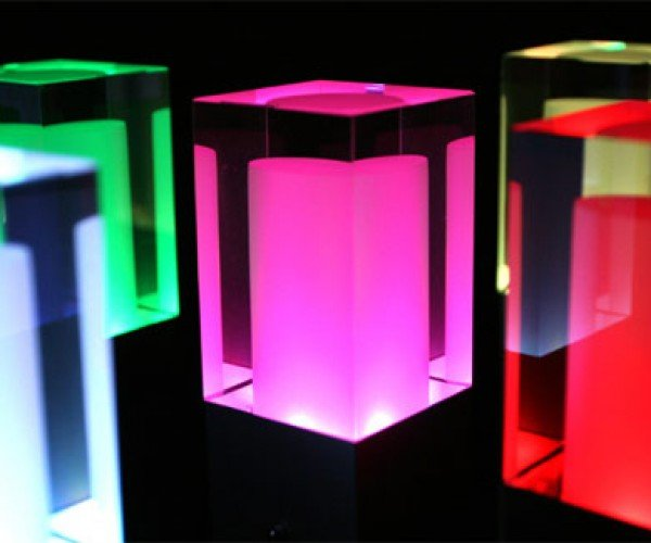 Rainbow Star LED Lamps Add a Splash of Color to Your Room