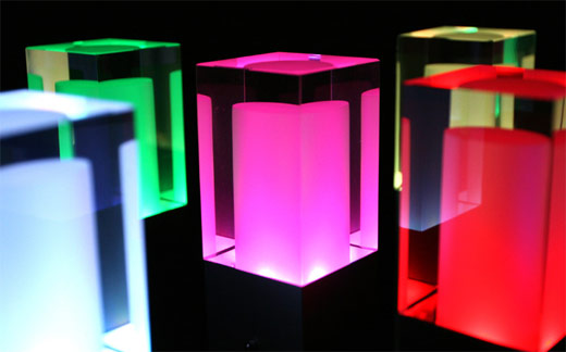Rainbow Star LED Lamps