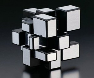 Rubiks Mirror Blocks Puzzle Bumps Out of the Cube
