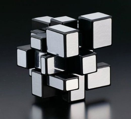 Rubiks Mirror Blocks Puzzle Bumps Out of the Cube - Technabob