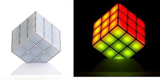 Rubiks Cube Disco Light