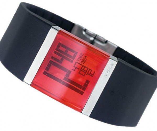 Philippe Starck Crystal Clear LCD Watch Sure Looks Cool