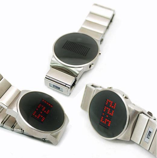 Storm Ambition LED Watch