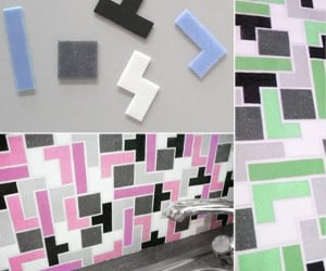 Tetris Tiles Bring Gaming Goodness to Your Backsplash