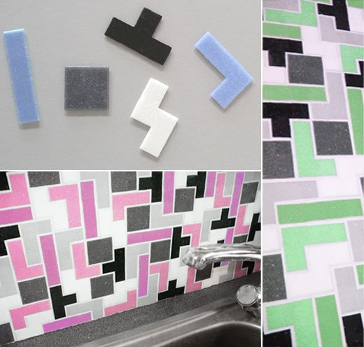 Tetris Tiles Ceramic Tile